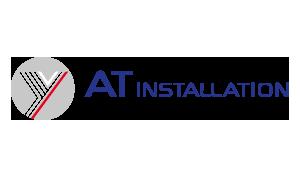 Bild på ATinstallations logga